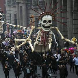 Why does Mexico celebrate Dia de Muertos (Day of the Dead)?