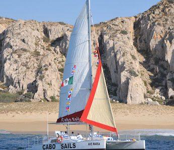 37′ Ave Maria Catamaran (Roomiest)