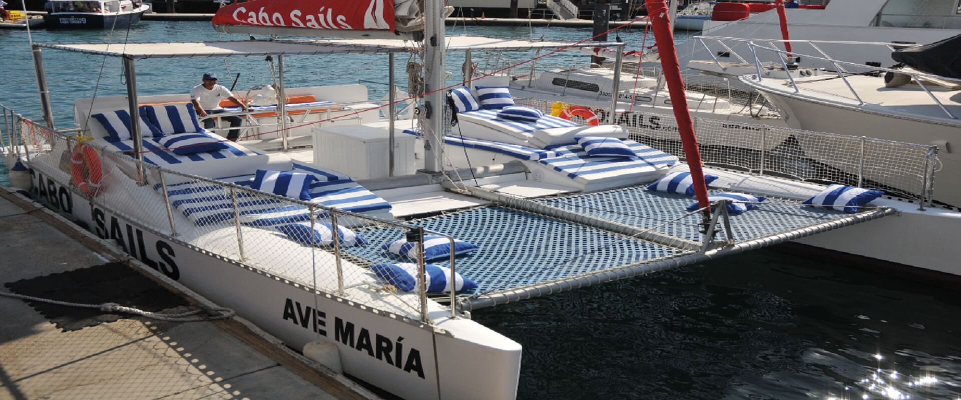37' Ave Maria Catamaran (Our Roomiest Boat)