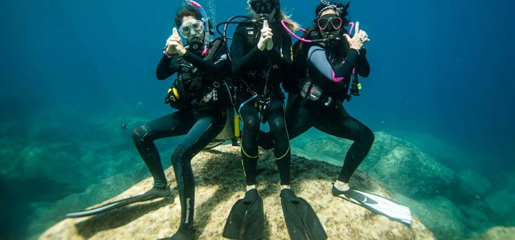 PADI Women's dive day 2018 Ixtapa-Zihuatanejo