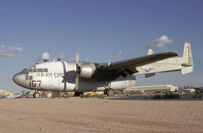 Fairchild C-119C Flying Boxcar - Pima Air and Space Museum