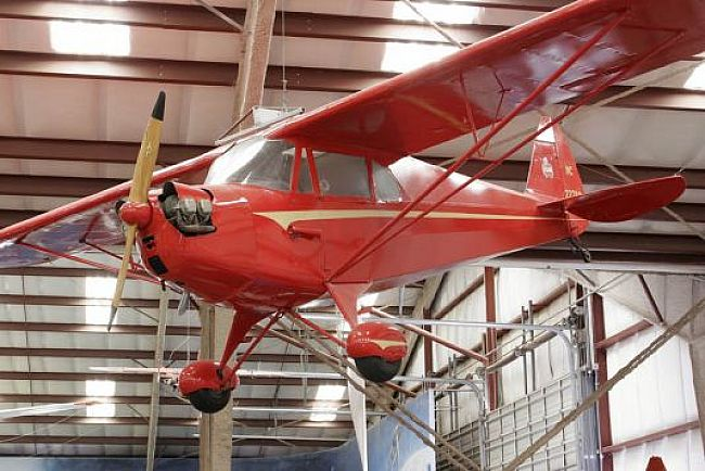 Piper J-4A Cub Coupe - Pima Air and Space Museum - Tucson