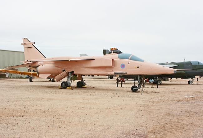 SEPECAT GR 3A Jaguar - Pima Air and Space Museum - Tucson