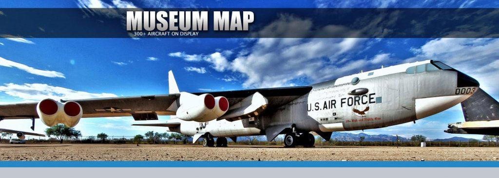 Museum Map - Pima Air and Space Museum - Tucson, Arizona