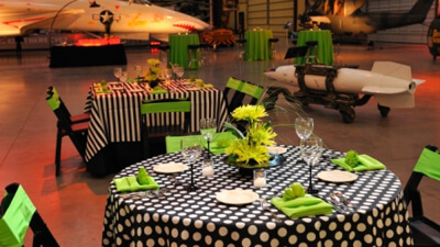 Private Event Planning Pima Air Space Museum-1